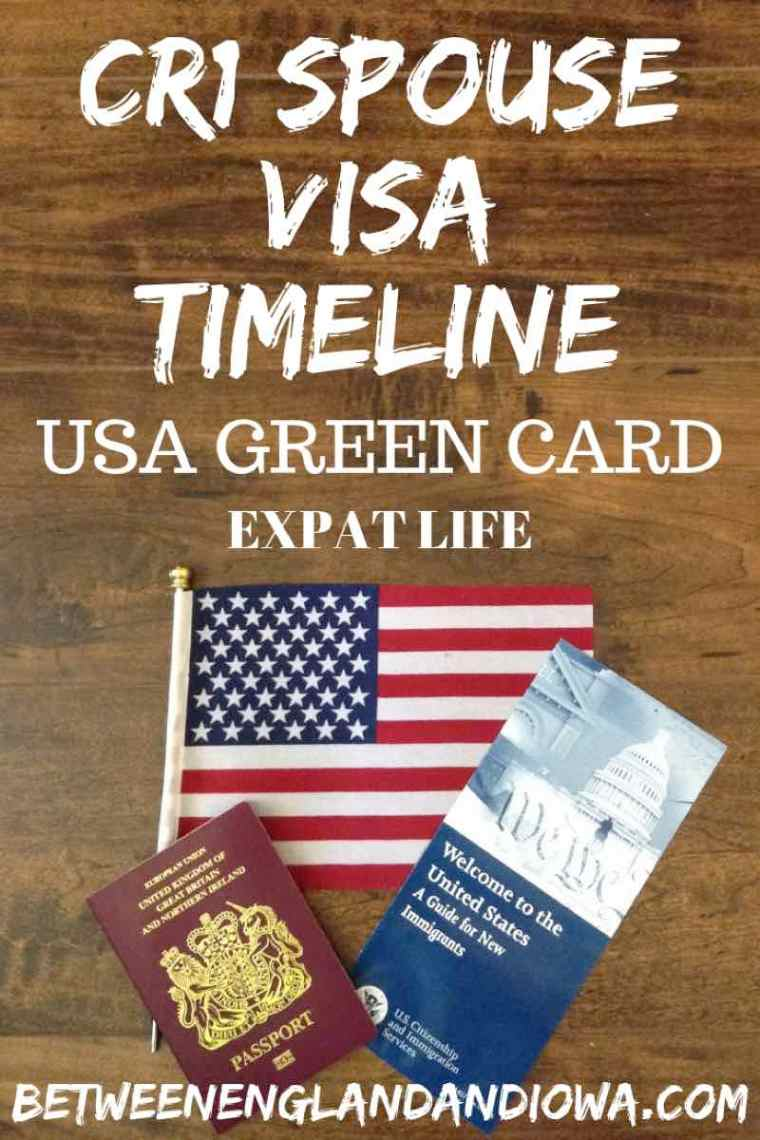 USA Green Card.  CR1 Spouse Visa Timeline.  How long is the CR1 processing time for a USA Green Card
