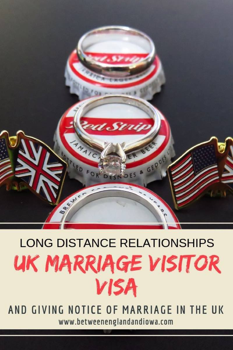 UK Marriage Visitor Visa and giving notice of marriage in the UK
