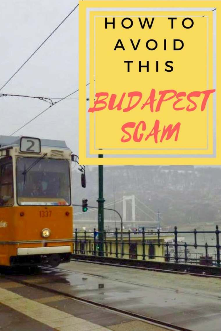 How To Avoid This Budapest Scam