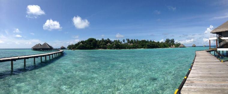 Maldives Water Bungalow Doorstep