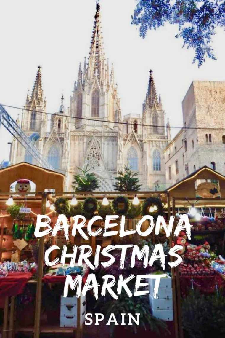 Barcelona Christmas Market Spain