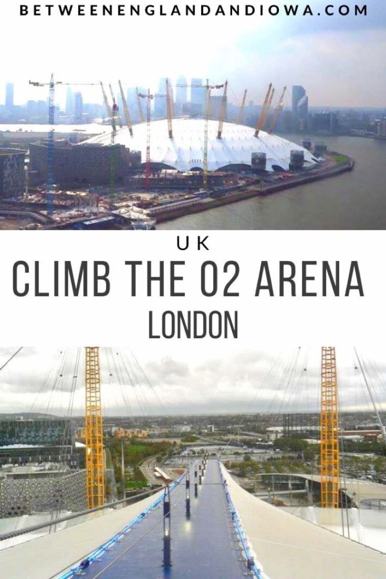 Climb the O2 Arena in London UK