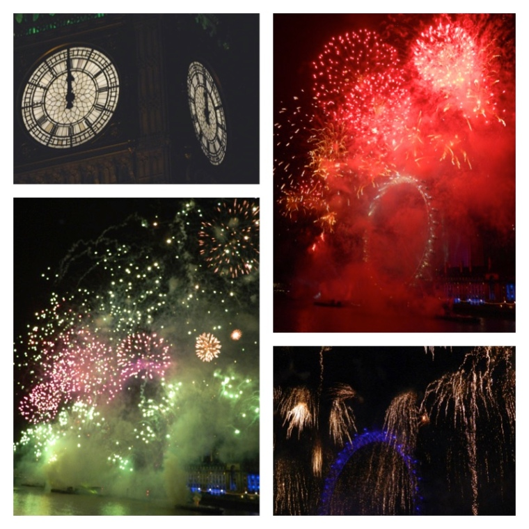 NYE London Fireworks