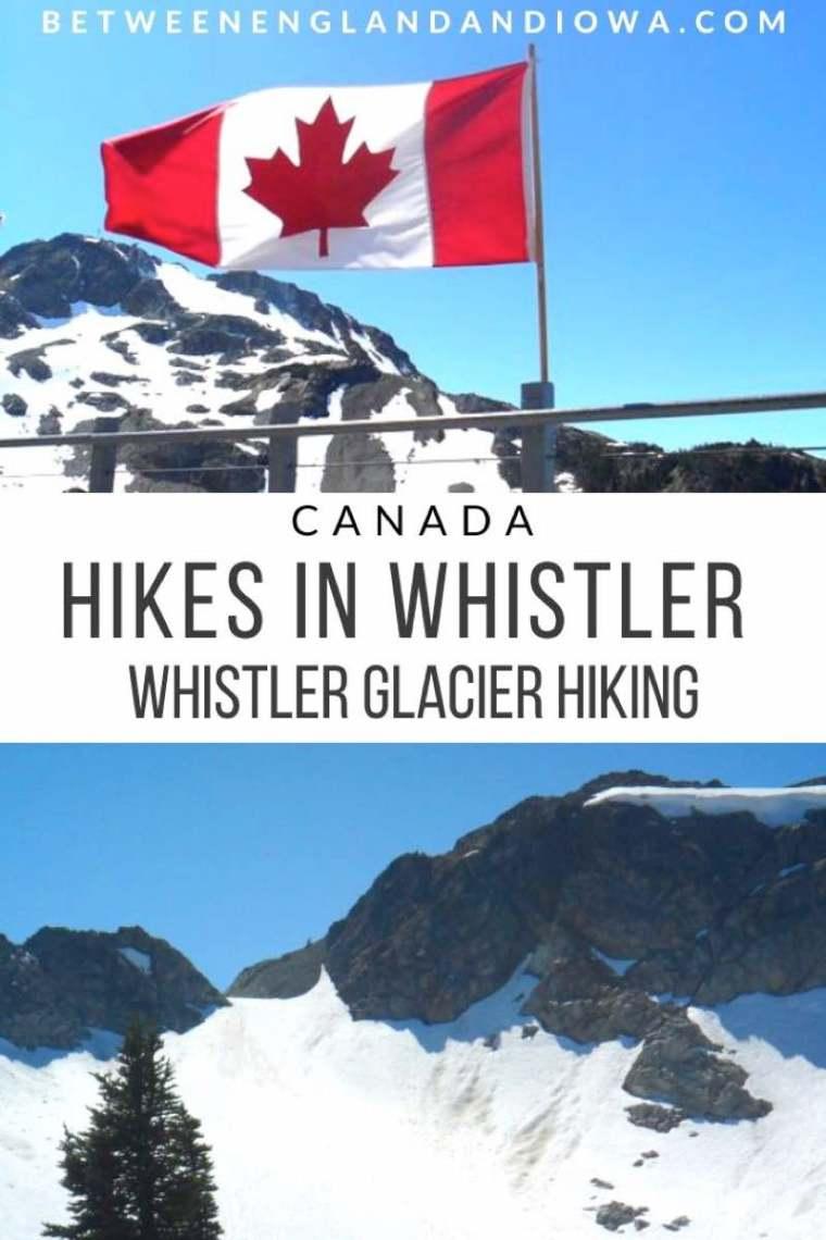 Hikes in Whistler Canada: Whistler Glacier Tour
