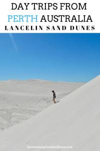 Day trips from Perth. Visiting Lancelin Sand Dunes in Western Australia