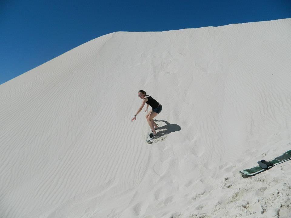 Lancelin Sand Dunes Sand Western Australia