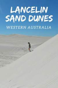 Tips for exploring Lancelin Sand Dunes in Western Australia, did you know you can sand board in Western Australia?
