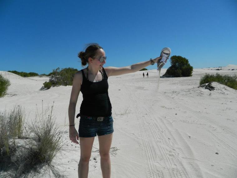 Lancelin Sand Dunes Western Australia