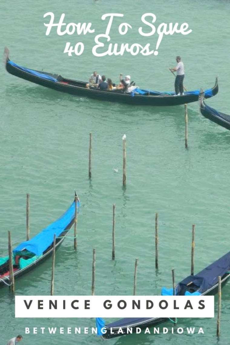 Venice Gondola Price. How To Save 40 Euros With One Small Money Saving Tip!