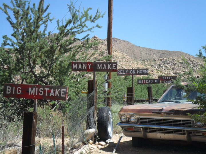 Burma Shave Route 66