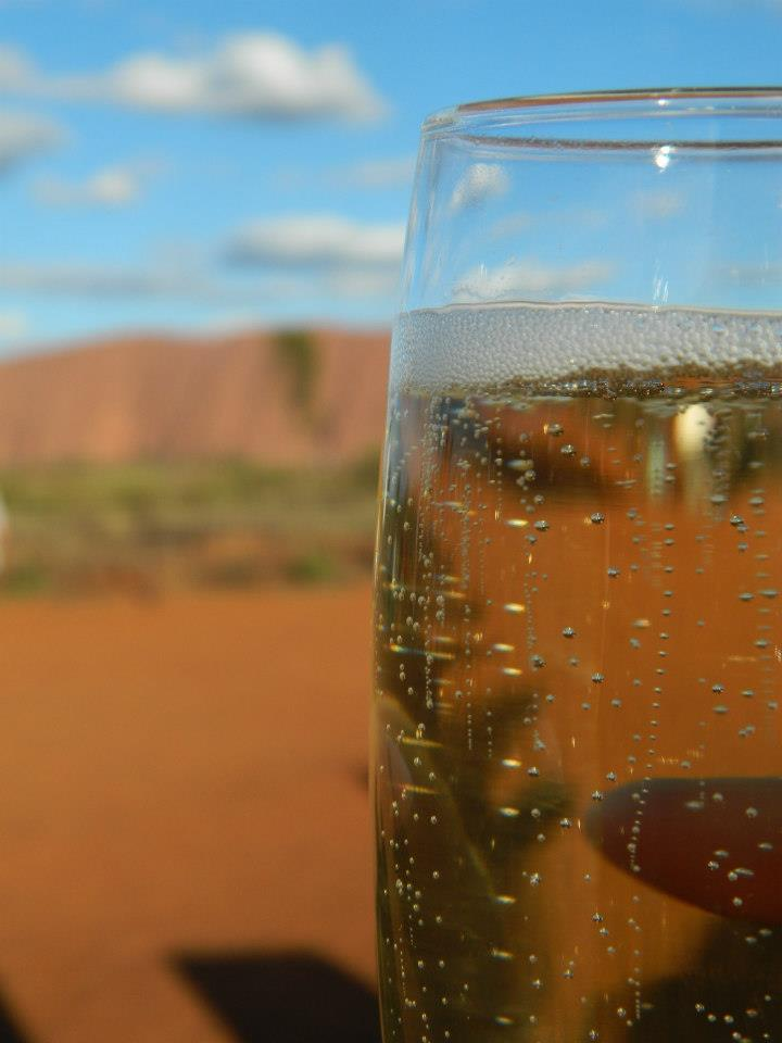 Champagne Dinner at Uluru