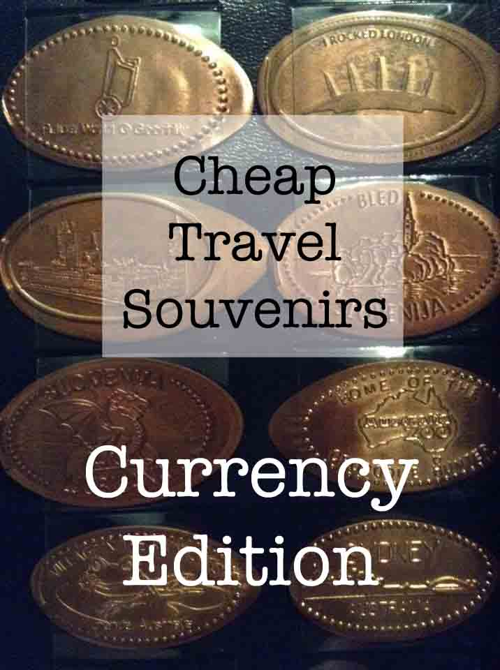 Currency souvenirs