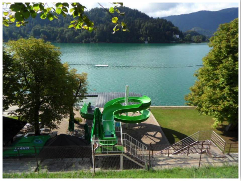 Lake Bled Lido Swimming