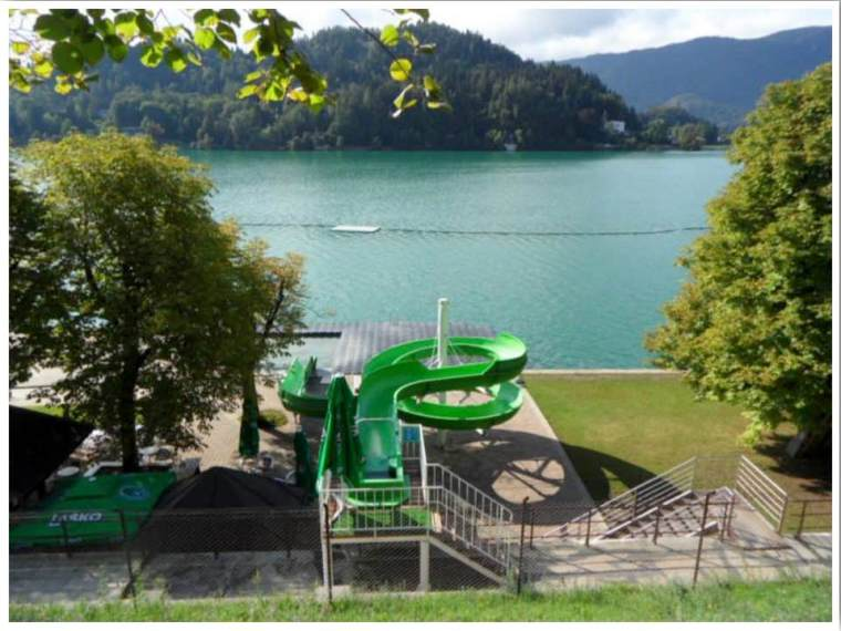 Lake Bled Lido Swimming
