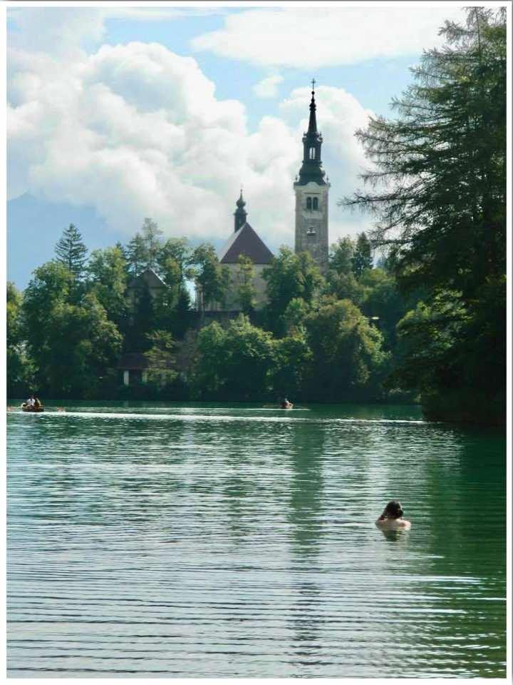 Lake Bled Swimming