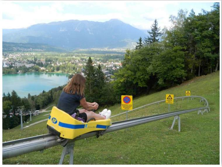 Lake Bled Summer Toboggan
