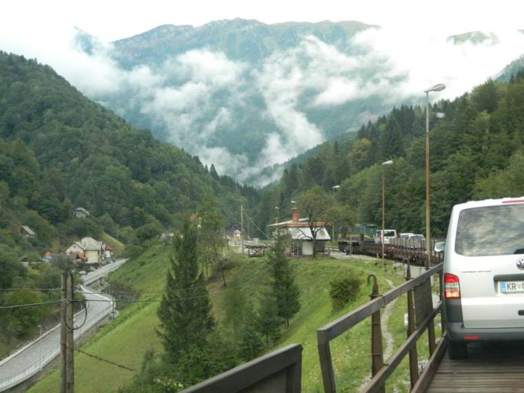 Slovenia Car Train
