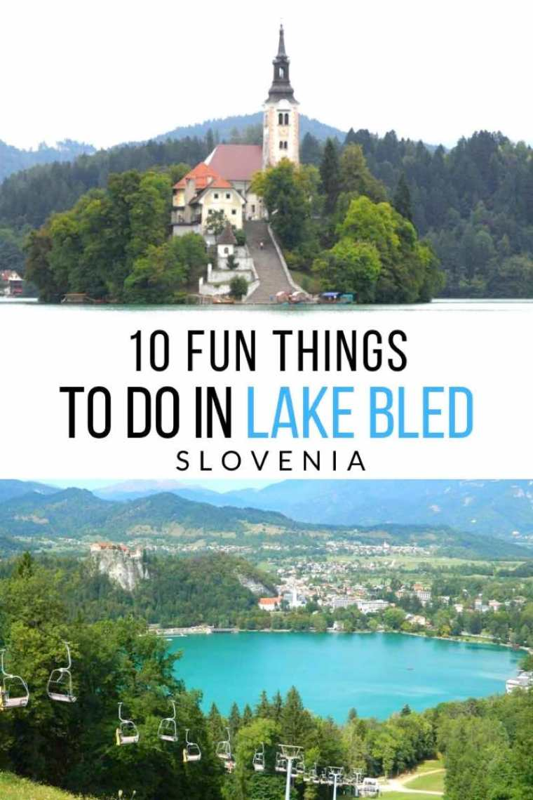 What to do in Lake Bled Slovenia.  10 fun things to see and do in Bled