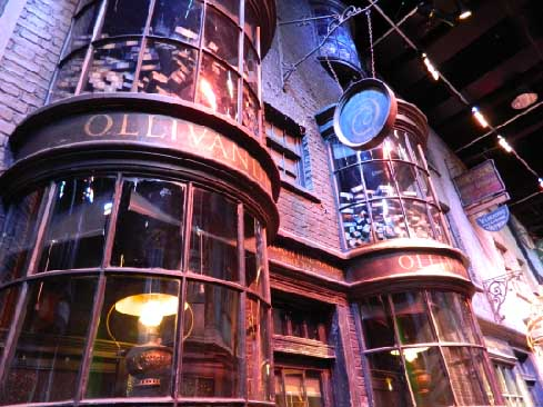 Ollivanders Diagon Alley