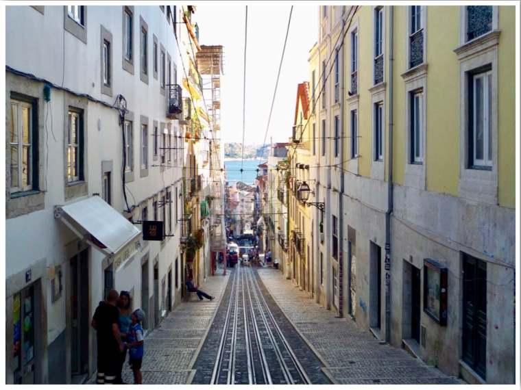 Funicular Lisbon Ascensor da Bica