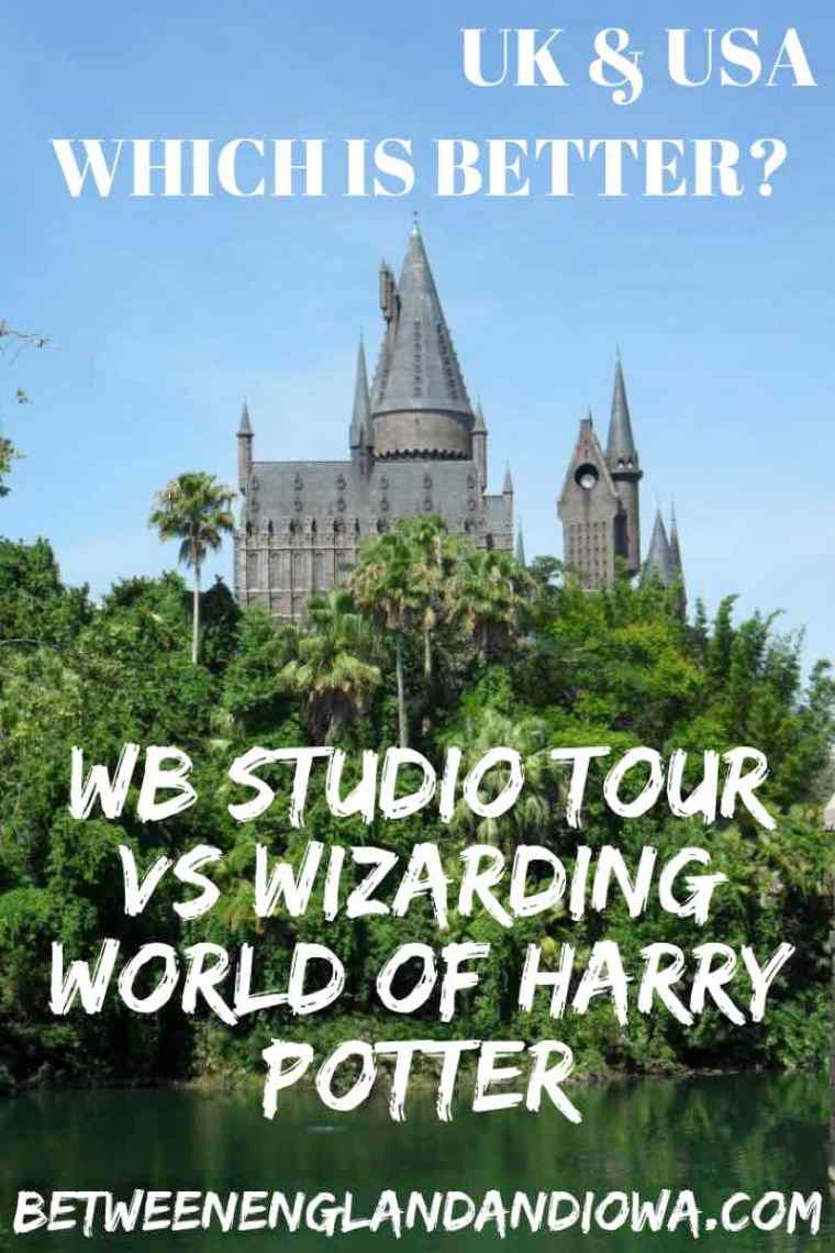 Which is Harry Potter attraction is better? Warner Bros Studio Tour or Wizarding World of Harry Potter? UK and USA