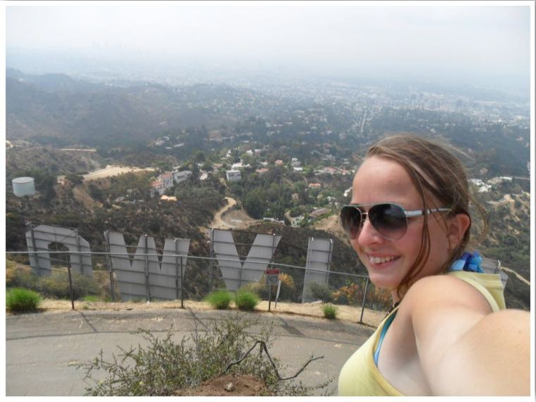 Hollywood Sign Hike. Behind the Hollywood Sign