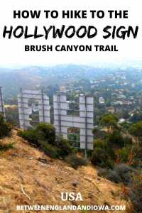 Everything you need to know about the Hollywood Sign hike via the Brush Canyon Trail