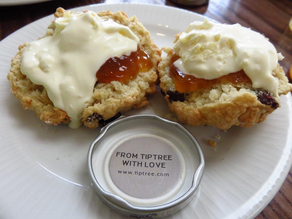 English Afternoon Tea scones