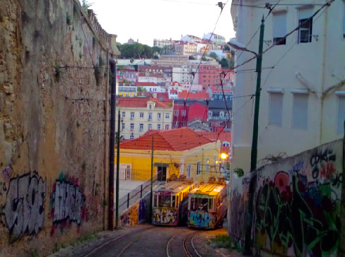 Ascensor do Lavra Lisbon