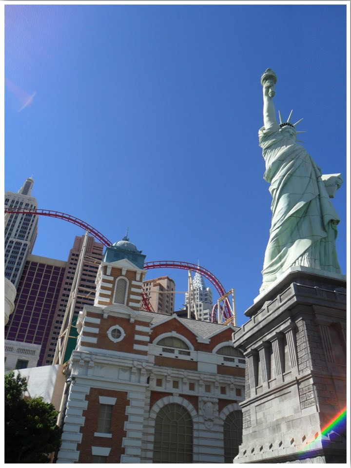 Las Vegas roller coasters New York New York