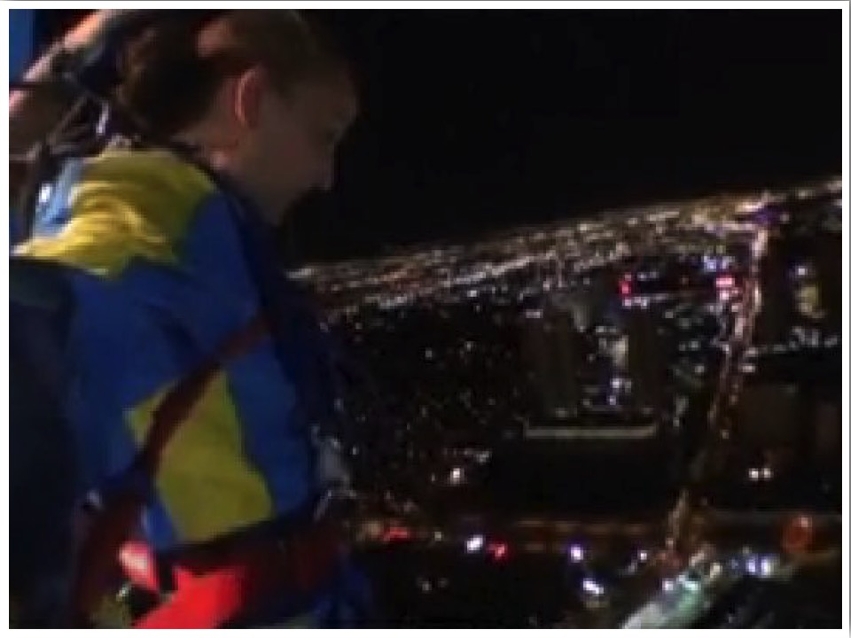 Las Vegas Thrill Rides SkyJump at the Stratosphere Tower