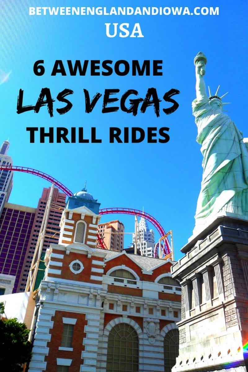 6 awesome Las Vegas thrill rides in Nevada USA