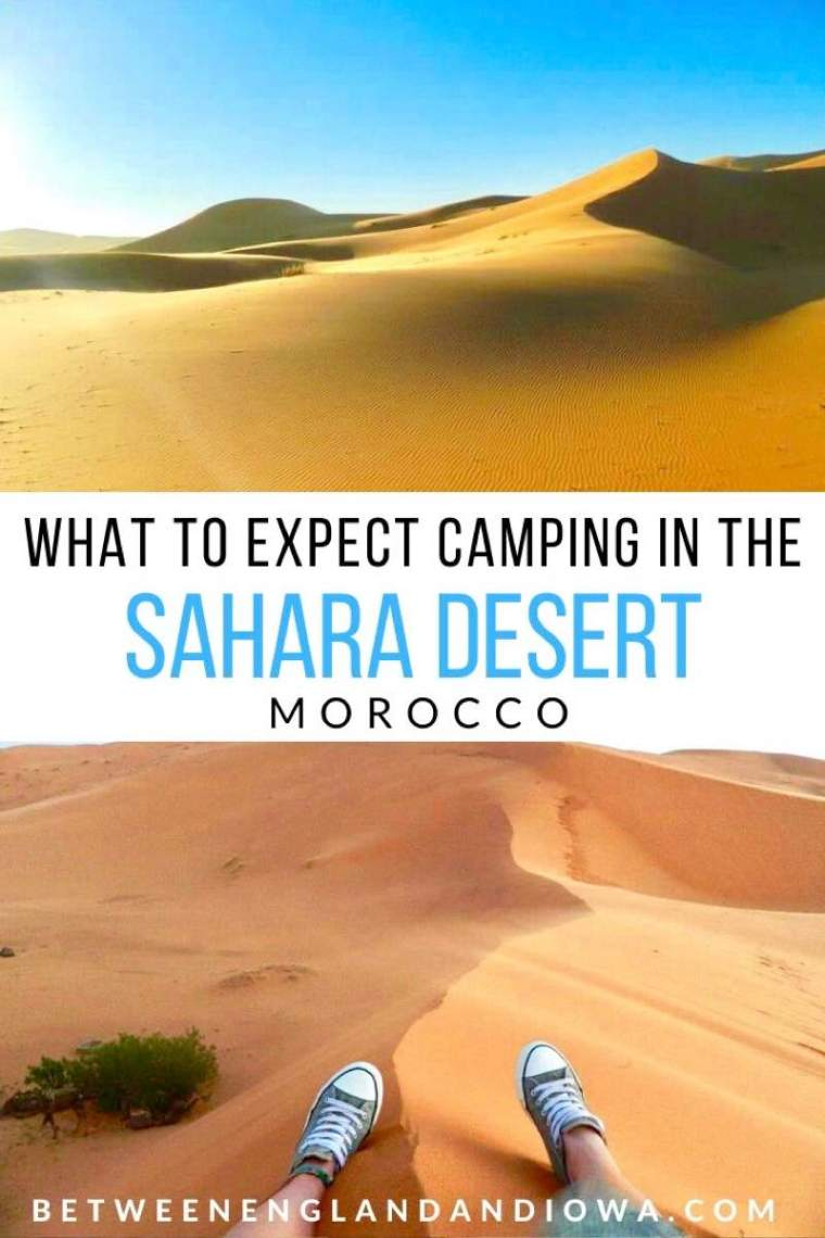Morocco Desert Tours: What to expect camping in the Sahara Desert