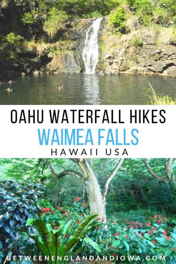 Oahu Waterfall Hikes: Waimea Falls Hawaii USA