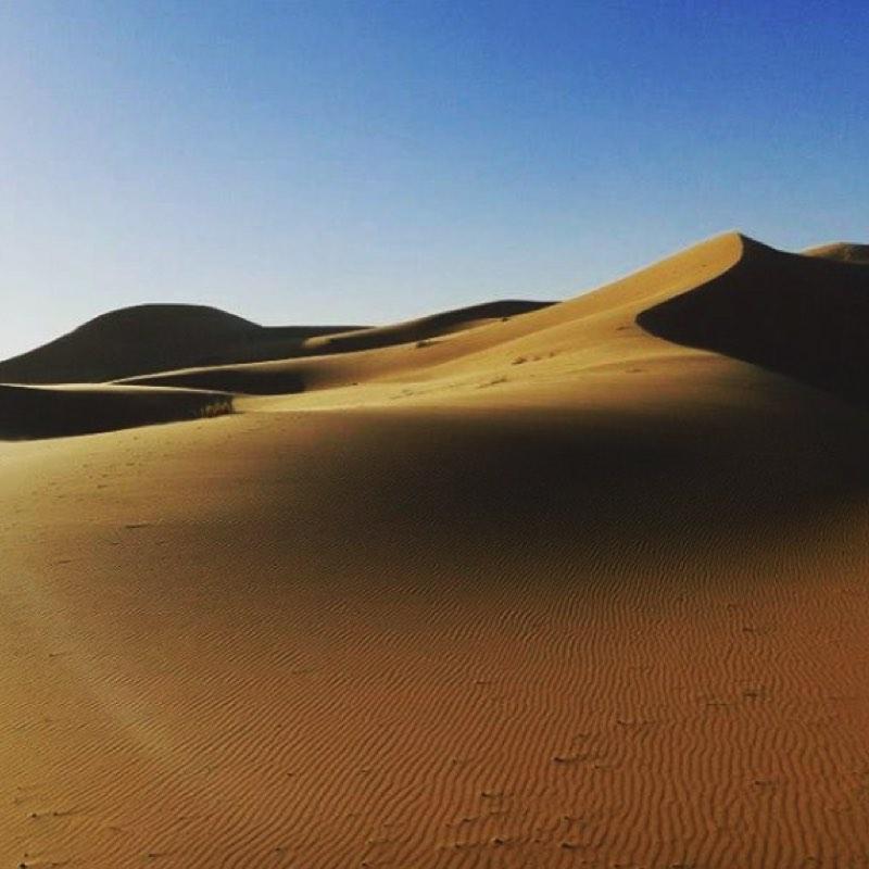 Sahara Desert Erg Chebbi Sunrise