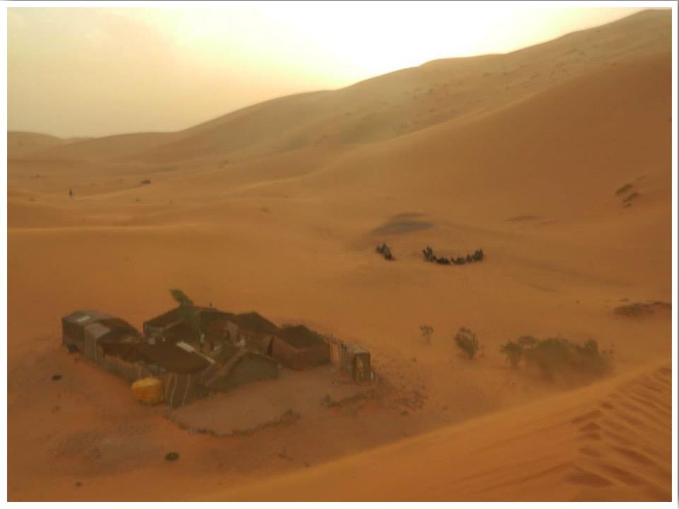 Sahara Desert Sandstorm