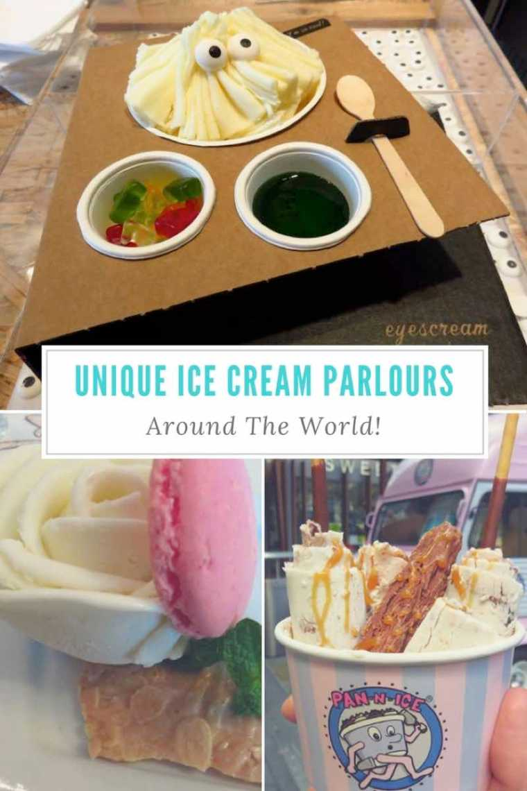 Unique Ice Cream Parlours Around The World