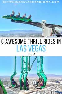 6 awesome thrill rides in Las Vegas Nevada USA