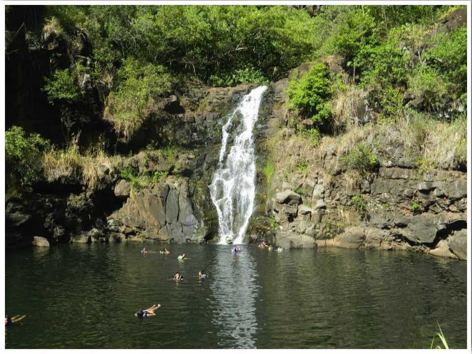 Waimea Valley Oahu Hawaii