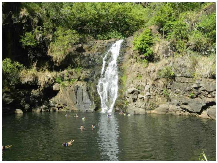 Waimea Valley Oahu Hawaii