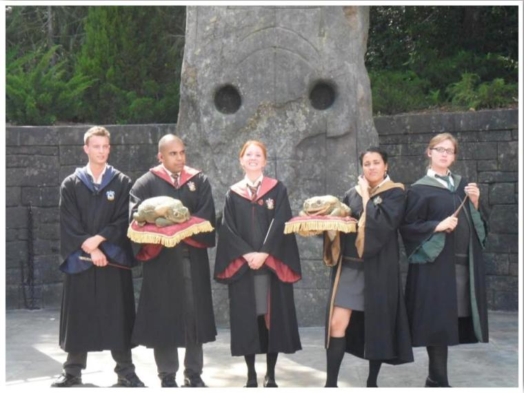 Wizarding World of Harry Potter Frog Choir
