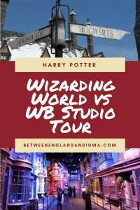 Wizarding World of Harry Potter or WB Studio Tour, which is better?!