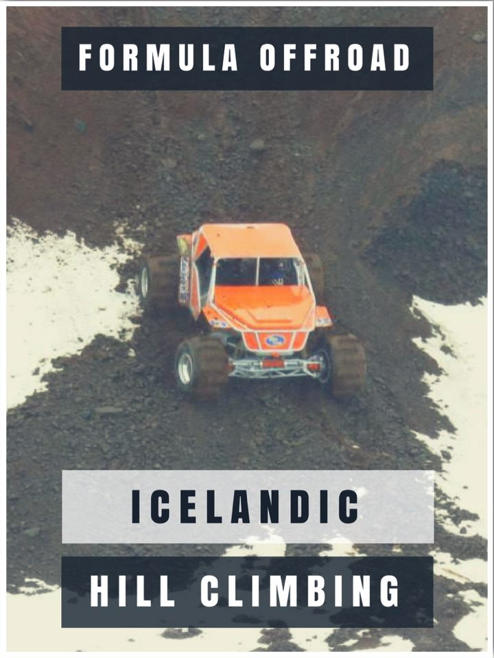 Icelandic Hill Climbing Formula Offroad Experience in Iceland