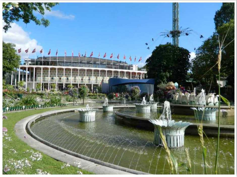 Tivoli Amusement Park Copenhagen Denmark