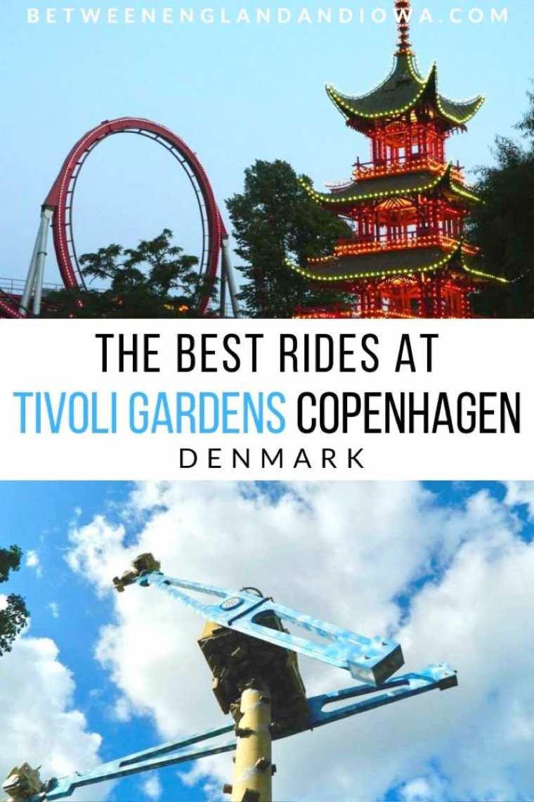 The best rides at Tivoli Gardens in Copenhagen Denmark
