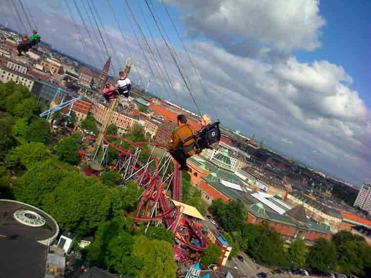 The Star Flyer Tivoli Gardens Copenhagen