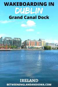 Wakeboarding in Dublin Grand Canal Dock