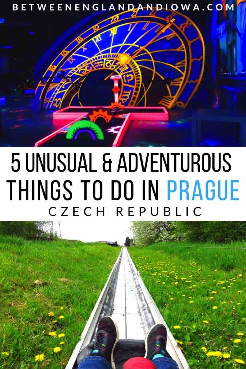 5 Unusual and adventurous things to do in Prague Czech Republic