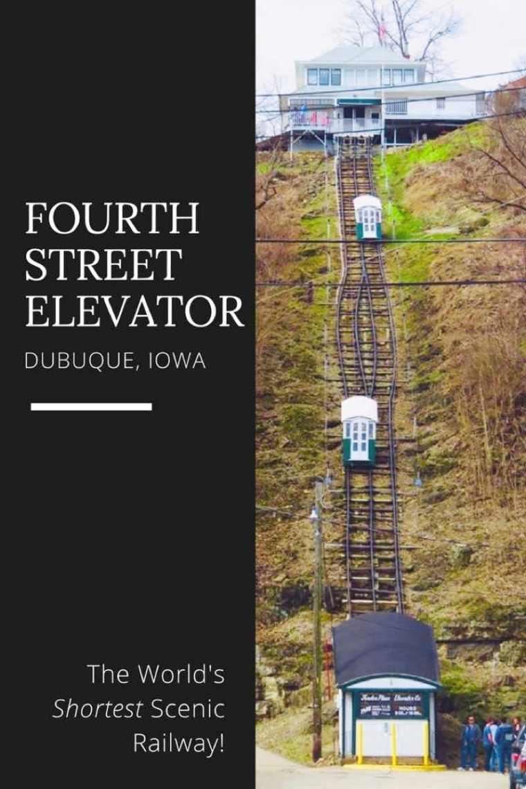 Fourth Street Elevator Dubuque Iowa
