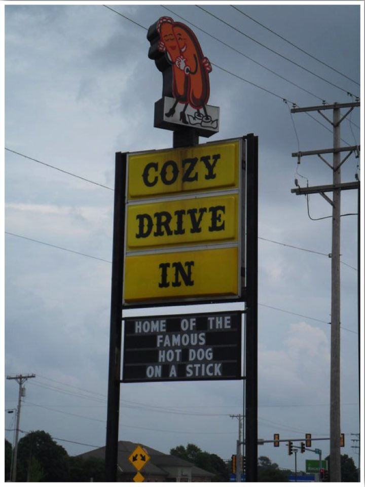 Route 66 Cozy Drive In Springfield IL